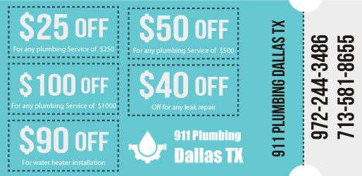 911 Plumbing Dallas,TX (Near & Affordable) Service – $25 Off